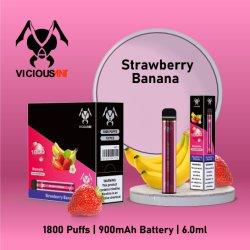 2021 유럽에서 새로운 제품, 듀얼 일회용 Vape 포드 Flavors E Liquid 담배