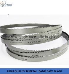 Bimetallisches Band Höhenflossenstation-M42 sah Bandsäge-Schaufel für Ausschnitt-hölzernes Metall, das harte Metall und schärfte Zähne