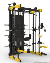 ماكينة التدريب الرياضية المحترفة القوة التجارية بناء هيكل متعدد الوظائف أنتيمي سميث آلة المنزل صالة الألعاب الرياضية معدات اللياقة البدنية