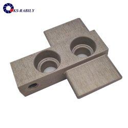 Precisie CNC die Toebehoren van de Motorfiets van het Aluminium van de Delen van Vervangstukken de Auto machinaal bewerken