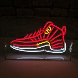 Levendige Rode Acryl LEIDEN van het Teken van het Neon van de Doos Waterdichte 12V Licht