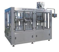 نظام تلقائي بالكامل للغاز يحتوي/يشرب مكربن/ماكينة تعبئة الصودا