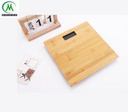 バックライト付き Bamboo プラットフォームデジタルパーソナルボディスケール、大型 LCD 表示( Display )