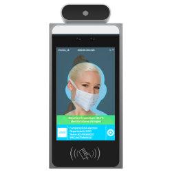Cuerpo de reconocimiento facial de advertencia de detección de temperatura de funcionamiento anormal de la Terminal de temperatura