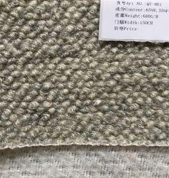 Fabbrica per fornire un tessuto portatile del materiale del panno della coperta delle lane di Melton di buona reputazione