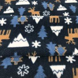 Feliz Navidad impresos Tela de forro polar manta para niños