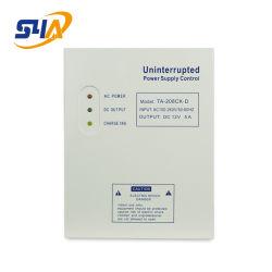 دخل تيار مستمر بقدرة 110 فولت إلى 240 فولت من خلال وحدة التحكم في مصدر الطاقة غير المنقطع 12 فولت