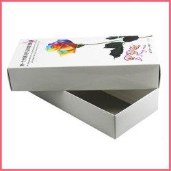 La chine sur papier carton imprimés personnalisés Sock Fabricant d'emballage Usine fournisseur