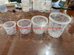 Pintura plástica tazas de medir la mezcla de tazas