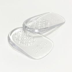 Gel de coussin d'absorption Ahock Shoe Semelle intérieure du tampon de la moitié seul talon tasses conviennent pour l'homme&Wome