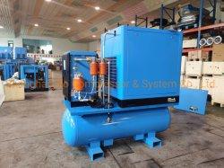 11kw 15kw 10HP 15HP 20HP Silencieux Économie d'énergie électrique Type de compresseur à air rotatif à vis