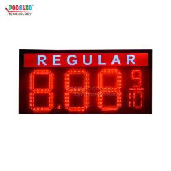 مؤشر LED لبيان السعر بجودة جيدة في الهواء الطلق عرض السعر الرقمي