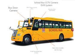 قنوات المصنع الثمانية GPS WiFi 4G Bus CCTV DVR لـ أتوبيس المدرسة أوتو تنقل المطار