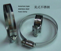 American-Type Stainless Steel Hose Clamp (8mm와 12.7mm)