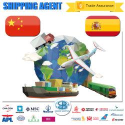 Versenden von Shanghai China nach Barcelona Spanien