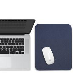 Alfombrilla para ratón PU Oficina Escritorio Equipo de cuero Alfombra de Gaming Mouse Pad con doble Color
