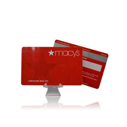 De Kaart van de Gift van de luxe met Kaart van het Adreskaartje RFID van de Druk van de Douane de Plastic