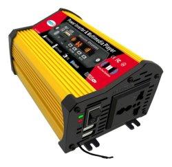 شاشة LED محول عاكس التيار للسيارة إمداد 300 واط مع وسائط متعددة مشغل MP3 موسيقى راديو مدمج مشغل الوسائط راديو متين