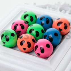 Pelotas saltarinas, saltando de pelota, pelota de goma, regalo de Navidad, Venta de juguetes, Panda, los niños Toy