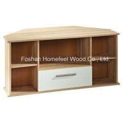 Bonne qualité en bois coin salon MEUBLE TV Cabinet (TVS24)