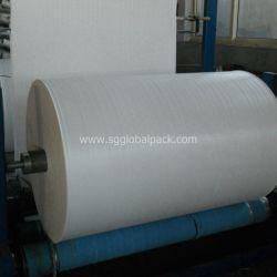 Высокая стойкость трубчатый PP полипропиленовая пленка белого цвета из ткани в рулон