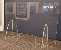 Transparente faltbare Niesen-Schutz-Tischplattenpartition Acryl-Teiler DES Belüftung-PC Haustier-PETG für Schule
