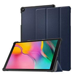 De protección universal de la cubierta de cuero impermeable Trifold Tablet Tablet para iPad Samsung