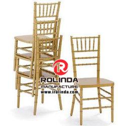 Chaise en bois d'or wedding Chiavari