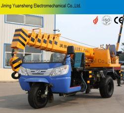 중국 제조자 2 톤 유압 모터 Lfiting를 위한 세발자전거에 의하여 거치되는 이동할 수 있는 망원경 기중기