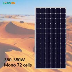 保証25年ののモノラル光起電太陽電池パネル350W 365W 370W 380W 400W PVのモジュール