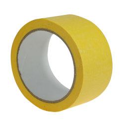 Fábrica Qinjian nenhum resíduo de cola da fita de camuflagem de papel Crepe para aluguer de mobiliário ou pintura automotiva