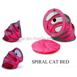 Mode spirale Packable Air-Permeable Chatterie couvre-lits nid chiot chats House Bed Collection