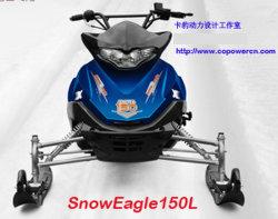 320cc moto de nieve nieve Scooter (SNOWEAGLE320)