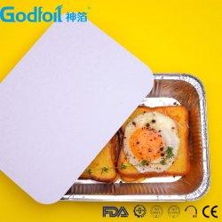 Le papier Couvercle pour récipient en aluminium/boîte à lunch/Bac d'aliments