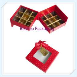 Commerce de gros vide papier carton Promotion de la boîte de chocolat