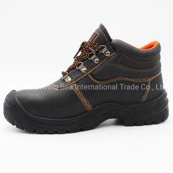 Suela de cuero auténtico PU Botas de seguridad calzado Calzado de seguridad para las obras