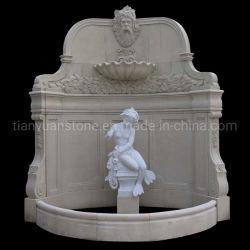 Natural marbre/granit sculptés à la main de Pierre Fontaine à eau pour le jardin ou au mur