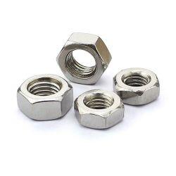 Le zinc plantés DIN en acier au carbone936 l'écrou hexagonal