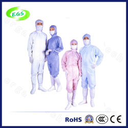 공장 및 실험실용 폴리에스테르 정전기 방지/ESD 오버코트/스무크(EGS-PP15)
