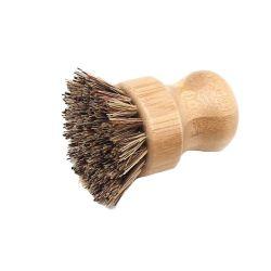 Prato de bambu de cozinha plástico Zero da escova