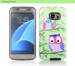 2017 Fantasia TPU PC personalizado da tampa traseira do telefone caso para a Samsung Galaxy J7 C55 J29 Mini S4