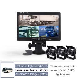 7 pouces TFT LCD numérique Vue arrière du moniteur de sauvegarde de voiture+caméra de recul