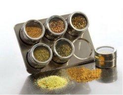 Для установки в стойку специй с магнитным баночек для кухонных (см.0302)