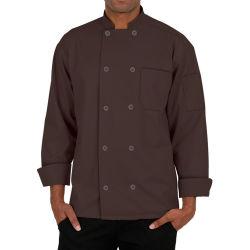 Саржа из хлопка шеф-повар покрыть кулинарных единообразных с логотип