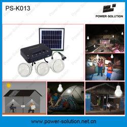 Nouveau design 3 lampes Lighitng Système solaire avec chargeur de téléphone