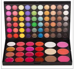 82 de Lipgloss van de Oogschaduw van de kleur bloost de Reeks van de Make-up van de Combinatie