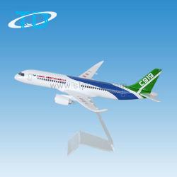 C919 modelo a escala de resina de los productos de los aviones del modelo de avión