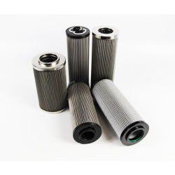 En fibre de verre haute pression de carburant du filtre à huile hydraulique