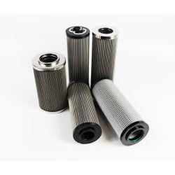 필터 카트리지 유압 기름 필터 원자가 산업 기계적인 여과 장비 & 분대 매체 유압기 필터에 의하여 주름을 잡았다
