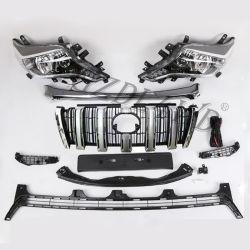 Für Toyota Land Cruiser Prado 2008-2013 Upgrade auf 2014-2017 Facelift Stoßfänger-Kit